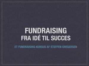 Fundraising kursus
