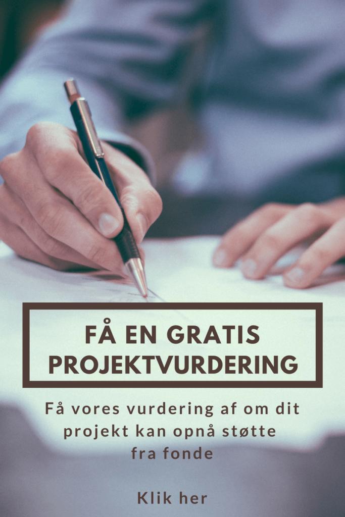 Få en gratis projektvurdering